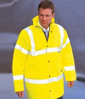 WD041 Dickies Hi-Vis Motorway Safety Jacket
